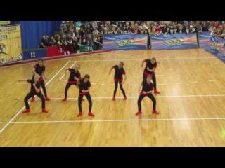 Click Play ((UNI-DANCE/Перчина Марина г. Пенза) 2 место  Чир хип - хоп Юниоры Small Crew