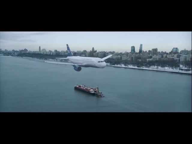 Чудо на Гудзоне / Sully, 2016 with Interstellar docking scene score (No Time For Caution)