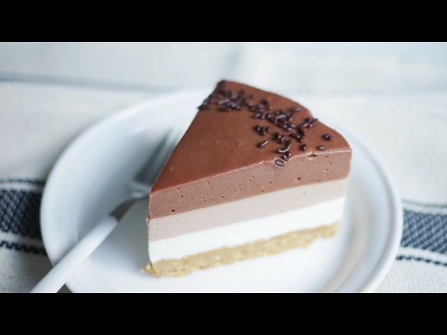 노오븐! 누텔라 치즈케이크 만들기 | 한세 [No-Bake] Nutella Cheesecake