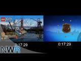 Lego City Undercover Load Times Comparison (Switch VS Wii U)
