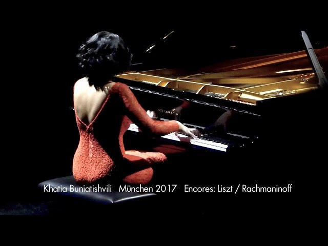 Khatia Buniatishvili München Recital 2017 Encores: Liszt Rachmaninoff