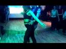 Marta Khanna and Oleg Sokolov improvising salsa romantica at Sochi Dance Forum 2016