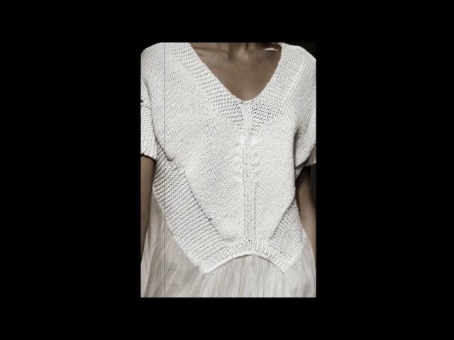 Стильное вязание(ассиметрия и геометрия)(knitting).