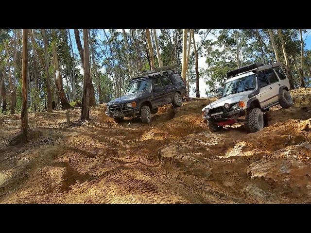 Twin Locked Discovery 1 vs Factory Driveline D2 - 300TDI vs TD5