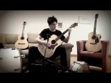 Hadouken Theme on Acoustic Guitar by GuitarGamer (Fabio Lima)
