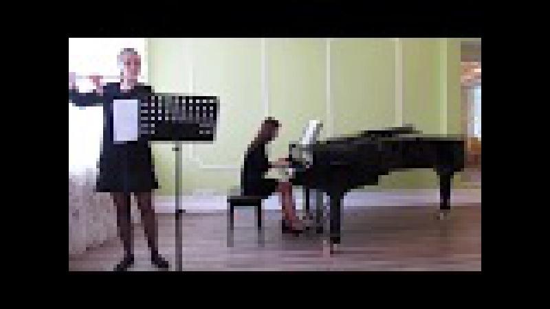 К. Ф. Э. Бах - Соната для флейты и фортепиано соль минор 3 часть