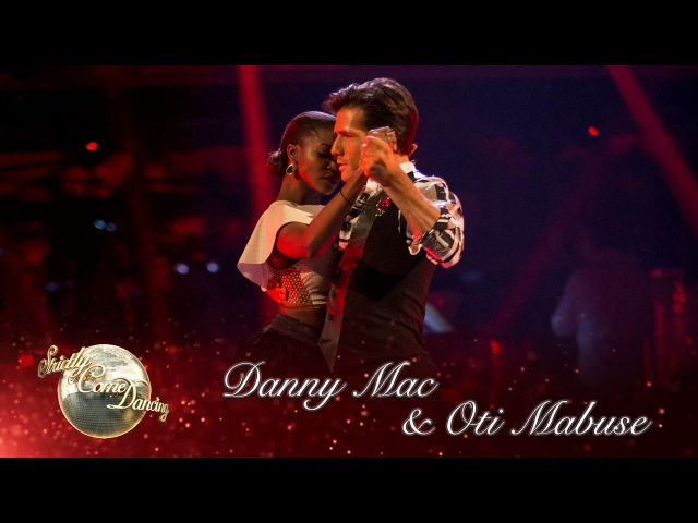 Danny Mac Oti Argentine Tango to 'I Heard it Through the Grapevine' by Marvin Gaye - Strictly 2016