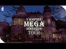 The Sims 4 House Tour Vampire Mega Mansion
