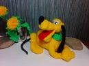 Веселый пес Плуто! ч.3. Cheerful dog Pluto! р.3. Amigurumi. Crochet. Игрушки крючком.