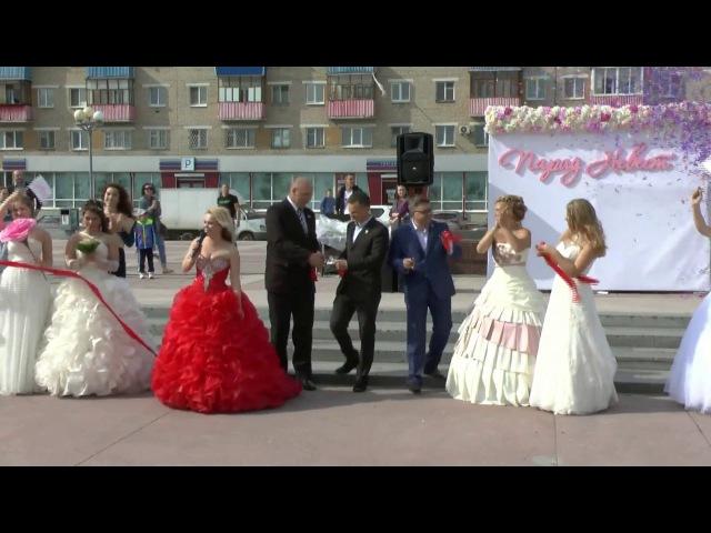 Третий парад невест в Каменске-Уральском. Май, 2017