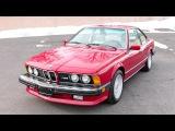 BMW M6 North America E24 11 1986 09 1988