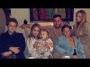 Татьяна Навка поделилась фото семейного вечера после бани
