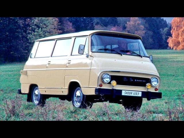 Skoda 1203 Minibus Type 997 1968 81