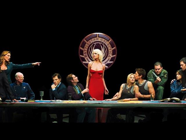 Battlestar Galactica: seven nation army trailer (Звездный крейсер галактика)