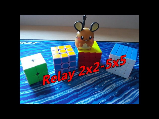 Relay 2x2-5x5 | Funny Cube Games (1)