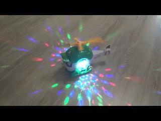 Игрушка Хелли - вертолет двигается и светится (Robocar)