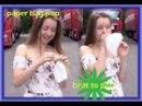 Elena lässt eine Papiertüte platzen - paper bag pop - looner
