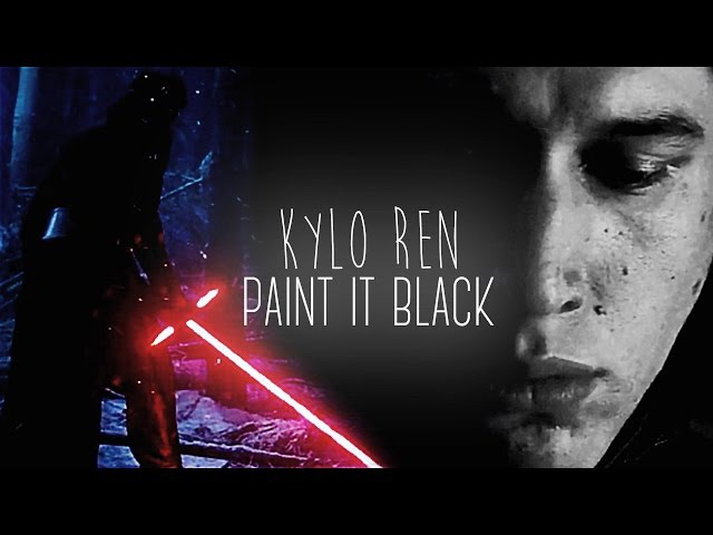 Kylo Ren | paint it black