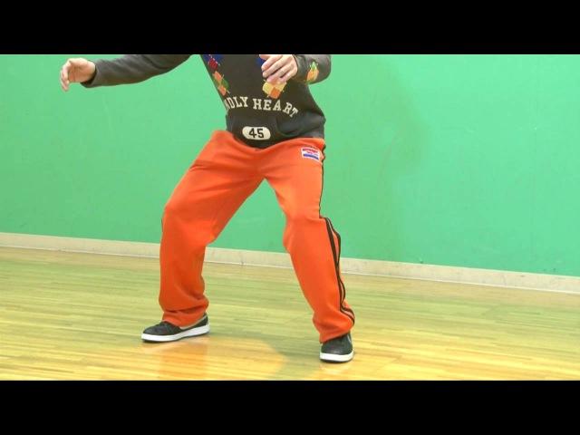【BE BOP】ビバップ:ひざ抜きステップ RISING Dance School HORIE | TDC