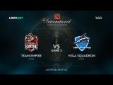 Team Empire vs Vega Squadron, Game 2, The International 2017 CIS Qualifier