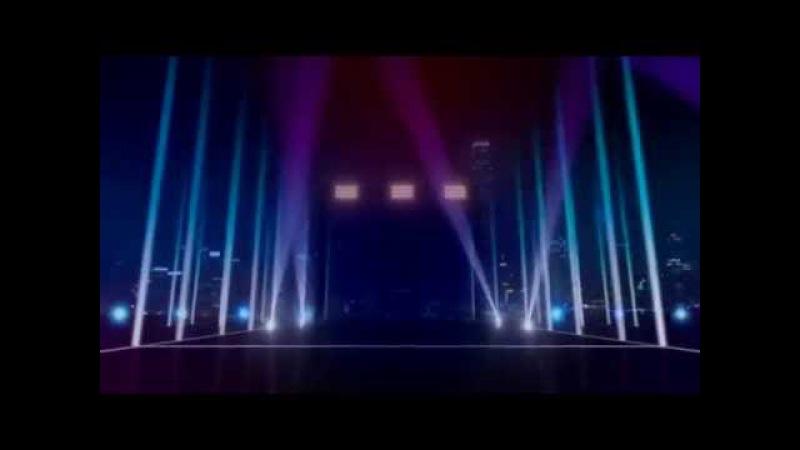 Футажи для видеомонтажа фон ночной город