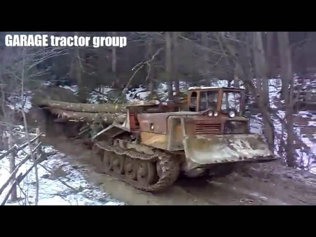 Лесной царь ТдТ 55 Трелевочник Forest King TDT 55 Trelevochnik