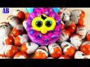Ферби ест киндер сюрприз. Видео для детей про развивающие игрушки.
