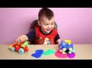 Детские игры с лизуном Играем лизуном первый раз Игры для детей малышей ЧАСТЬ 1