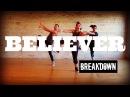 'Believer' by Imagine Dragons - HIT THE FLOOR -  Cardio Dance Choreography Breakdown