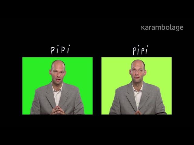 Le mot : pipi - Karambolage - ARTE