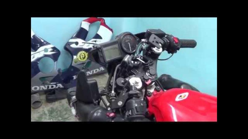 №6 Замена сальников в вилке Honda CBR 600 f4i