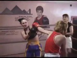Svetlana vs Natalia  REAL kickass boxing