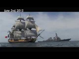 L'Hermione Grand Voyage 2015, from Rochefort, France to the U.S. East Coast