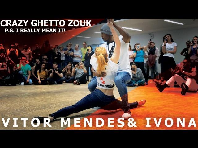 Rihanna - Work, Shinna Way Vitor Ivona Ghetto Zouk Dance @ Luxembourg Kizomba Festival 2017