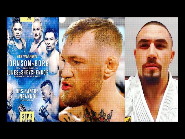 Conor McGregor asked NAC just one thing for Mayweather fght; Mark Hunt Donald Cerro Dillashaw
