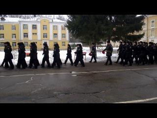030217 Ломоносов Присяга Выход на плац 2 (3 и 4 взводы) и 3 роты