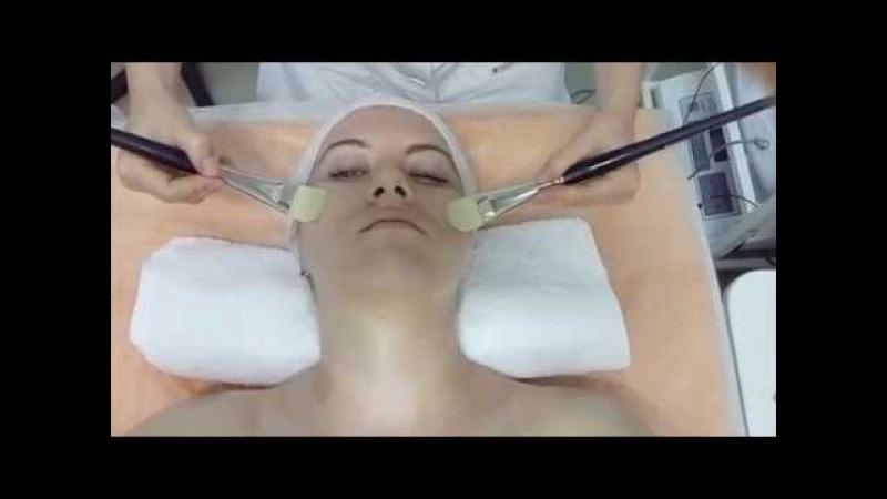 Французский скульптурный массаж лица кисточками. Косметолог Анастасия Жаркая