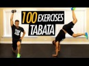 50 Minute Tabata HIIT Training Workout with Weights - 100 High Intensity Cardio Tabata Exercises