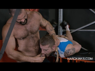 Bondage beast (isaac eliad, rogan richards) #gay #porn #hard #bds hardkinks.com]