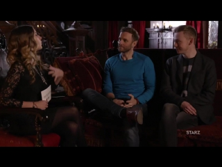 Interview with john bell and steven cree from entertainment tonight