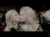 Lesbians Kiss #00 [Lesbian Esthetics] - Jennifer Lawrence kisses Natalie Dormer