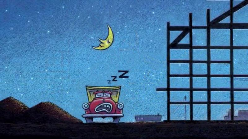Стройка, баюшки-баю. Мультик на ночь про Кран, самосвал, бульдозер, экскаватор и бетономешалку