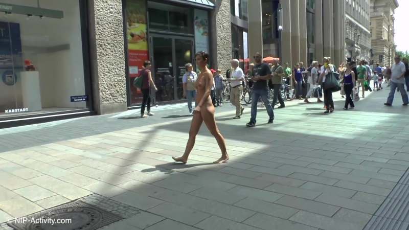 Gabriella Naked in Public 3