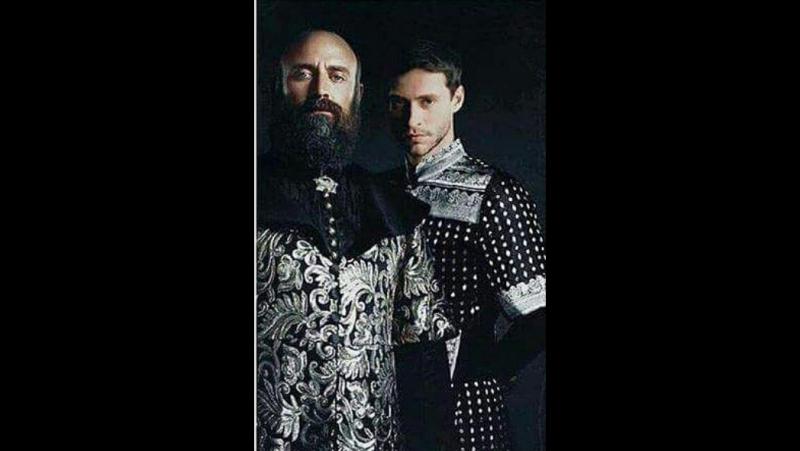 Султан Мехмед и Шехзаде Султан Ахмед , отец и сын параллель . Два льва Османской Империи .