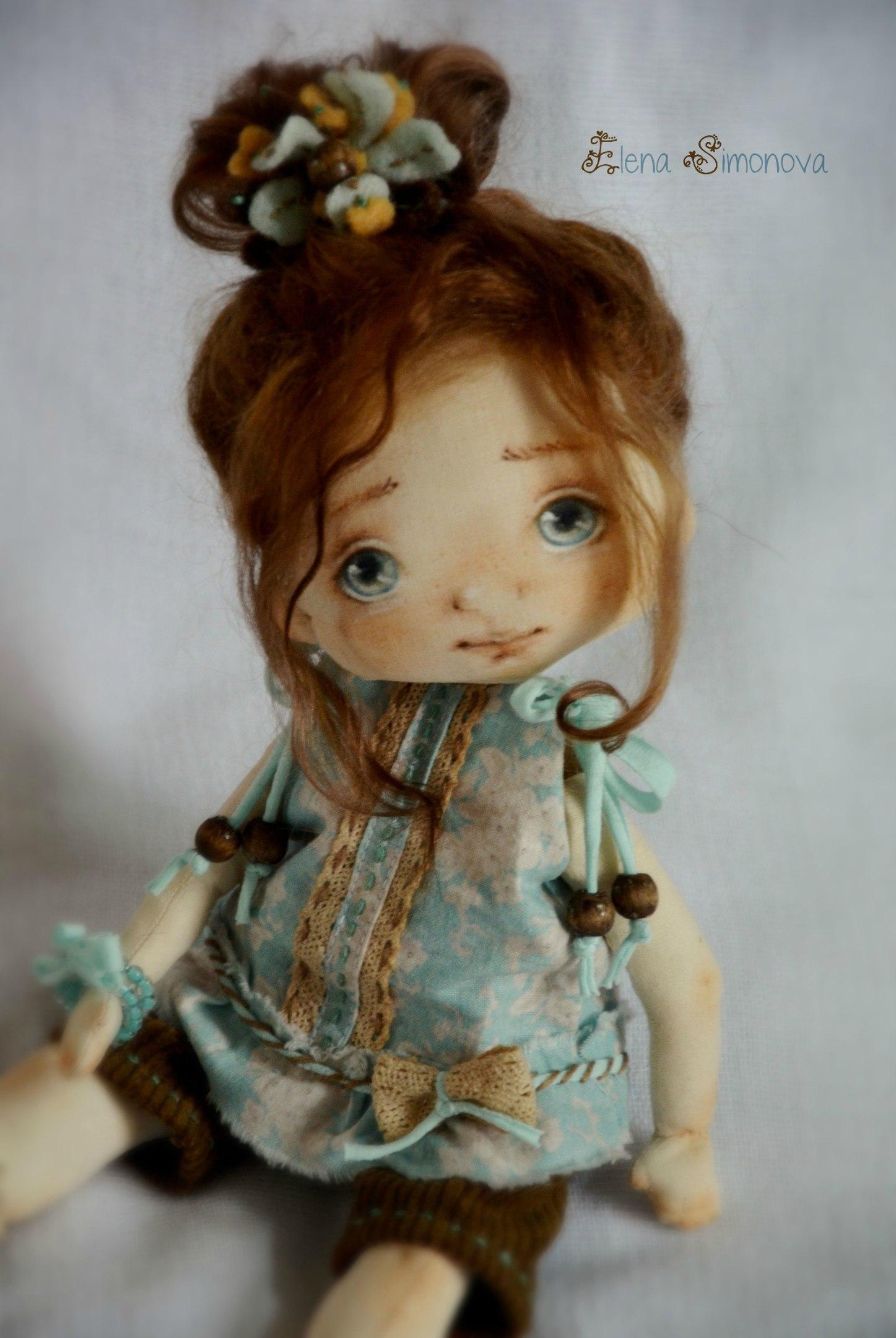 текстильные куклы Елены Симоновой