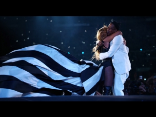 Beyoncé & Jay-Z - Forever Young / Halo (Live) (RU Subtitles / Русские Субтитры)