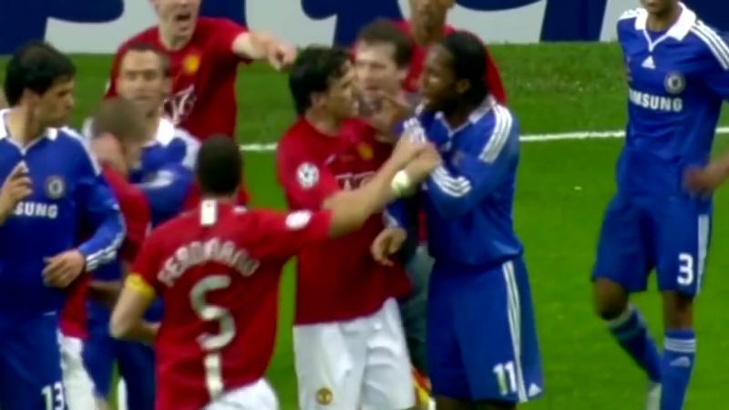 Финал ЛЧ 2007/08 Манчестер Юнайтед - Челси