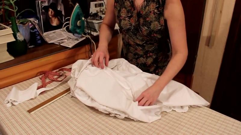 Как сшить платье из юбки, How to Sew a Dress from a Skirt