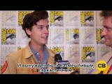 Cole Sprouse Talks The Premiere of Riverdale at SDCC 2016 (rus sub)