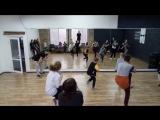 Choreography by Sasha Putilov (N'sync It's tearing up my heart) gr 2.1
